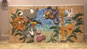 SAMA, mosaic marathon, smalti